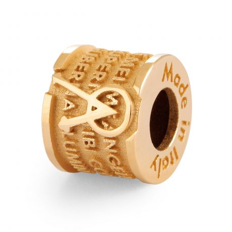 INCIPIT ANGELO in ARGENTO T-GOLD