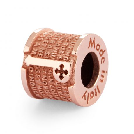 INCIPIT PATER in ARGENTO ROSA
