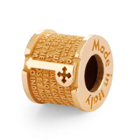 INCIPIT PATER in ARGENTO T-GOLD